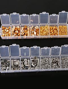 beadia 1 stk mode smykker fund guld&rhodium belagt hop ringe& hummer hægter& udvidelse kæder& endestykker