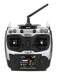 RadioLink AT-9 2.4G 9CH Transmitter w/ 9CH Receiver for RC Helicopter Airplane and Hobby