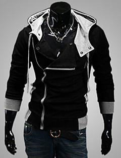Ležérní Kapuce - Dlouhé rukávy - MEN - Coats & Jackets ( Směs bavlny )