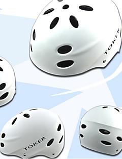 Capacete ( Branco / Vermelho / Rosa / Preto / Azul , EPS / ABS ) - Montanha - Unisexo 17 Aberturas Ciclismo / Ciclismo de Montanha