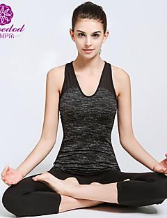 Annat Dam Yoga Kostymer Ärmlös Andningsfunktion / wicking / Lättviktsmaterial Others Yoga / Pilates / Fitness / Leisure Sports / LöpningM