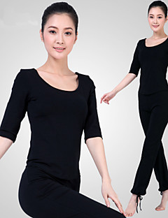 Autres Femme Yoga Tenus Demi-manche Matériaux Légers Rouge / Noir Yoga / Pilates / Fitness / Sport de détente / Course M / L / XL