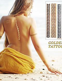 Brand New - Tatuajes Adhesivos - Non Toxic / Tribal / Waterproof - Series de Joya -Bebé / Niños / Mujer / Girl / Hombre / Adulto / Boy /