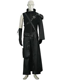 Final Fantasy VII 7 Cloud Deluxe Black Cosplay Costume