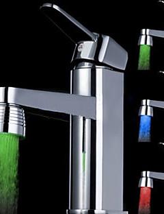 Moderni Kitchen Faucet LED Harjattu