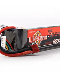 vilde skorpion 18,5 5500mah Li-Po