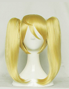 Seraph of the End Mitsuba Sanguu  Golden Short Pigtails Cosplay Wig