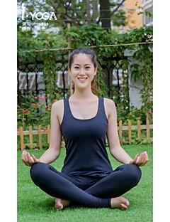 Iyoga ® Ioga tops Anti-Estático / wicking / Antibacteriano / Macio Stretchy Wear Sports Ioga Mulheres