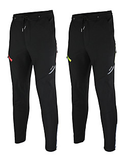 ARSUXEO® Cycling Pants Men's Waterproof / Thermal / Warm / Windproof / Fleece Lining / Reflective Strips BikePants/Trousers/Overtrousers