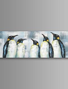 Animal / Fantaisie / Moderne / Romantique / Pop Art Toile Un Panneau Prêt à accrocher , Format Horizontal