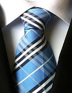 Krawat-Dla mężczyzn-Vintage / Urocza / Imprezowa / Do biura / Na co dzień-Poliester-Kratka