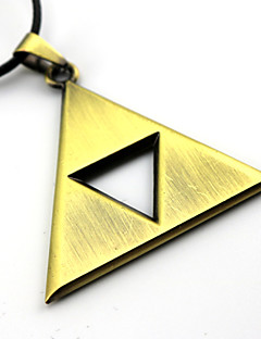 Jewelry Inspired by The Legend of Zelda Cosplay Anime/ Video Games Cosplay Accessories Necklace Golden / Silver Alloy Male / Female