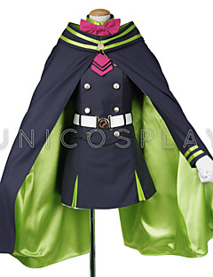 Inspiré par Cosplay Vampire Dracula Manga Costumes de Cosplay Costumes Cosplay Manches Longues Manteau Jupe Ceinture Pour Masculin Féminin