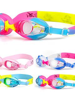 Made In China плавательные очки Детские Противо-туманное покрытие / Водонепроницаемый Силикагель Акрил синий / розовыйПрозрачные /