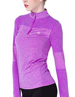 Outros ® Ioga tops Respirável / Elástico / Redutor de Suor / Macio Stretchy Wear Sports Ioga / Pilates / Fitness / Corrida Mulheres