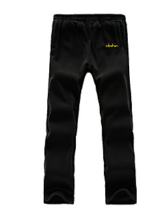 Clothin Men's Thicken Antistatic Hiking Pants Fleece Sweatpant Pocket Pant