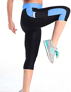 Running Pants/Trousers/Overtrousers / Bottoms Women's Breathable / Compression / Lightweight Materials / Stretch PolyesterYoga / Exercise