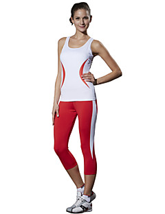 LEFAN® Women's Sleeveless Running 3/4 Tights Pants/Trousers/Overtrousers Clothing Sets/Suits BottomsHigh Breathability (>15,001g)