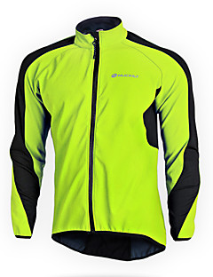 NUCKILY® Cycling Jacket Women's / Unisex Long Sleeve BikeWaterproof / Thermal / Warm / Windproof / Anatomic Design / Fleece Lining /