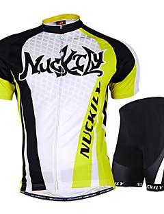 NUCKILY® Cyklodres a kraťasy Unisex Krátké rukávy Jezdit na koleVoděodolný / Prodyšné / Odolný vůči UV záření / Propustnost vůči vlhkosti