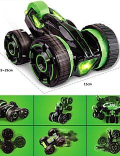 6-ערוץ חמישה צמיגי שלט רחוק 360 צעצוע מכונית פעלולים מעלות סיבוב