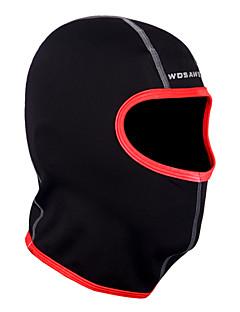 Balaklava na lyže Face Mask Čepice Kolo Prodyšné Zahřívací Rychleschnoucí Větruvzdorné Odolné vůči prachu Lehké materiály Unisex Černá