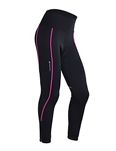 Nuckily Cycling Tights Women's Bike Pants/Trousers/Overtrousers 3/4 Tights BottomsThermal / Warm Quick Dry Windproof Anatomic Design