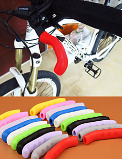 High Quality Antiskid MTB Mountain Bike Brake Lever Silicone Grip Road Track Bicycle TT Rest Handlebar Silicone Grip