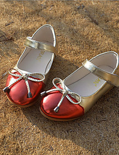 Girls' Shoes Wedding / Outdoor / Party & Evening / Casual Moccasin / Styles / Closed Toe Flats / Slip-on Blue / Red