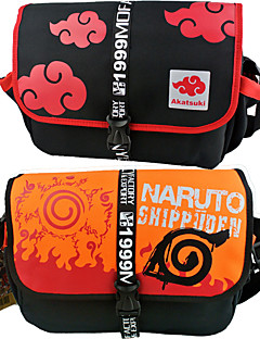תיק / אביזרים נוספים Naruto קוספליי אנימה אביזרים Cosplay שחור / כתום חומר מקרומולקולרי / ניילון