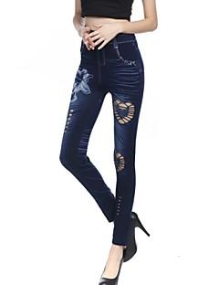 Europe Women's Fashion Sexy Printed Leggings