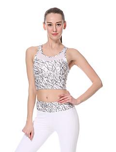 Yokaland ® Ioga tops / Sutiã Secagem Rápida / wicking / Redutor de Suor Stretchy Wear Sports Ioga / Pilates / Fitness Mulheres