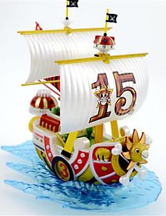 het 15-jarig bestaan van de Qianyang schip ingesteld piratenboot decoratie een stuk garage kit