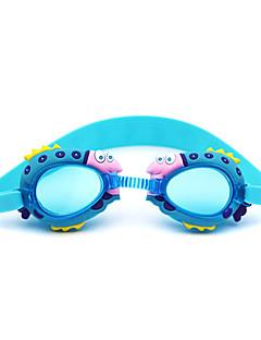 плавательные очки Детские Противо-туманное покрытие Силикагель Поликарбонат синий / Тёмно-синий / красный / розовыйкрасный / розовый /