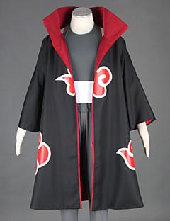 Ispirato da Naruto Kakuzu anime Costumi Cosplay Abiti Cosplay Collage NeroMantello / Maglia / Pantaloni / Accessori per capelli /