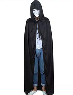 Cloak Duch Festiwal/Święto Kostiumy na Halloween Czarny Patchwork Cloak Halloween / Boże Narodzenie / Karnawał / Nowy Rok Dla obu płci