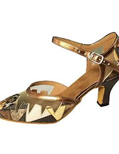 Non Customizable Women's Dance Shoes Leatherette Leatherette Modern / Salsa Sandals Stiletto HeelIndoor / Performance / Practice /