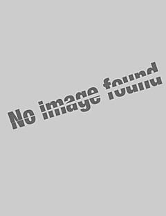 Bomull Kortermet Skjorte Ensfarget Fritid/hverdag Plusstørrelser Herre