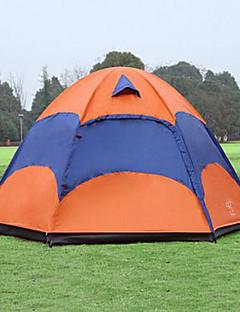 Sheng yuan 5-8 persoane Cort Dublu Cort Pliant O cameră Cort de campare 1500-2000 mm Respirabilitate Anti-Insecte Supradimensionat-