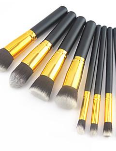8pcs Pennello per ombretto / Pennello per cipria / Pennello per polveri Capelli sinteticiProfessionale / Coppa larga / Ecologico /