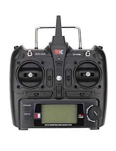 WLToys / XK X380 WLToys 송신기 / 리모트 컨트롤러 / 부품 액세서리 RC 쿼드 콥터 / RC 비행기 / RC 헬리콥터 블랙