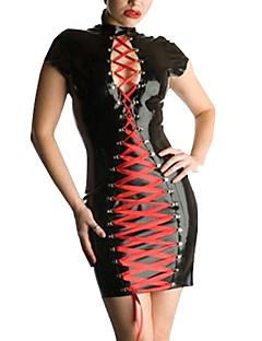 Cosplay Kostüme Film/Fernsehen Thema Kostüme Mehre Kostüme Karriere Kostüme Fest/Feiertage Halloween Kostüme Schwarz einfarbig Kleid