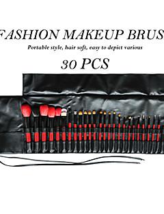 Red & Black® 30pcs Makeup Brushes set Goat/Mink Hair Professional/Limits bacteria Blush brush Shadow/Eyeliner/Lip/Brow/Lashes Brush
