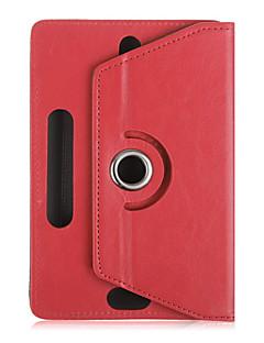 """보편적 인 10 """"인치 태블릿 케이스 (360)는 10 인치 탭 보호 케이스 가죽 스탠드 케이스 커버를 회전"""