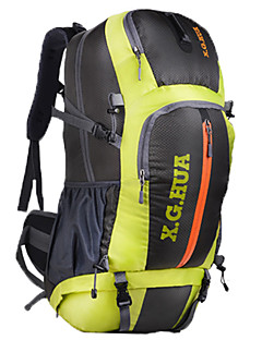 Outdoor Backpack 50L Travel Waterproof Nylon Travel Bag Men And Women Mountaineering Backpack Sports Camping