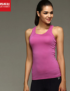 לנשים עליונית טנק ספורט נושם / תומך זיעה / רך ורוד / צהוב בהיר / סגול S / M / L יוגה / פילאטיס / כושר גופני / ריצה-אחרים