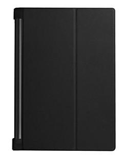 10,1-дюймовый кожаный чехол для ПУ вкладки йоги LENOVO 3 про-x90l (ассорти цветов)