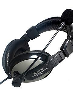 SENICC ST-2688 Sobre-Oído del auricular woth Mic y el telecontrol para PC / iPhone / Samsung / HTC