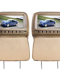 """deluxe 9 """"kafalık araba dvd oynatıcı ve koruyucu ekran kapağı"""
