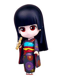 Hell Girl Ai Enma 10CM Anime Action Figures Model Toys Doll Toy